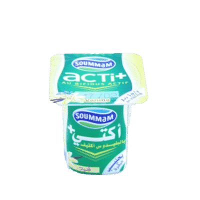ACTI PLUS GOUT VANILLE -- SOUMMAM -- 100G