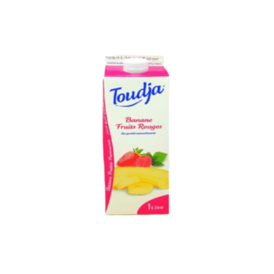 TOUDJA -- BANANE FRUITS ROUGES -- 2L