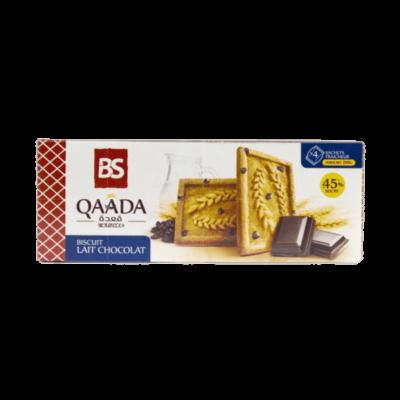 Biscuit Qaada lait chocolat