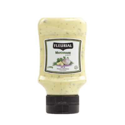 Mayonnaise Fleurial Ail Fines Herbes 200G