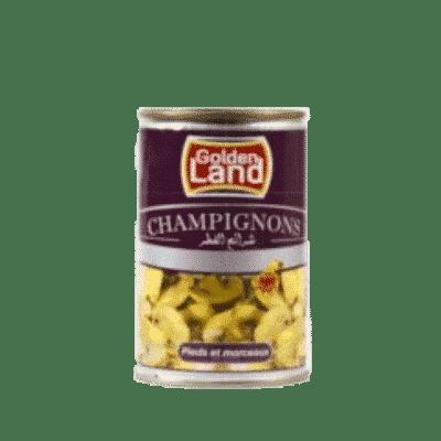 Champignons Golden Land – Coupé