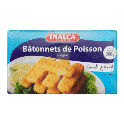 Bâtonnets de poisson INALCA 300g