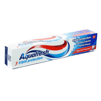 Dentifrice Aquafresh Triple Protection Menth fraiche
