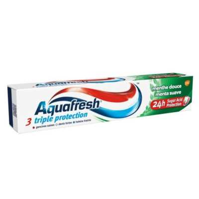 Dentifrice Aquafresh Triple Protection Menth Douce