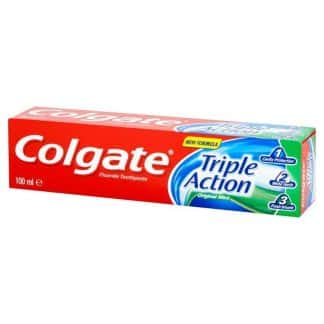 Dentifrice Colgate Triple Action