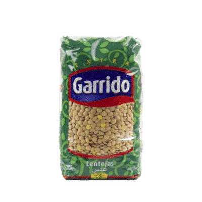 Lentilles 1Kg Garrido