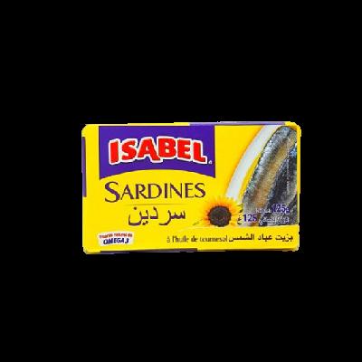 ISABEL SARDINE A L'HUILE DE TOURNESOL
