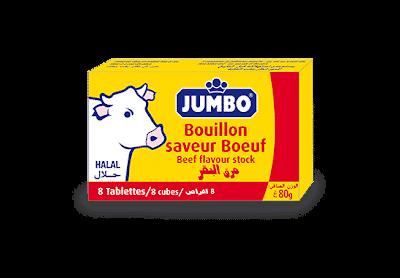 Bouillon Boeuf Jumbo 80G