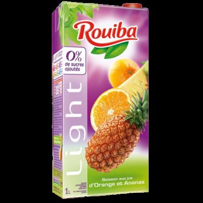 ROUIBA -- LIGHT -- ORANGE & ANANAS -- 1L