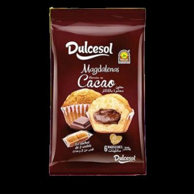 Dulcesol Madeleine Fourée Au Cacao