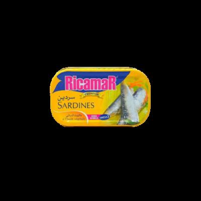 RICAMAR - SARDINE A L'HUILE VEGETALE