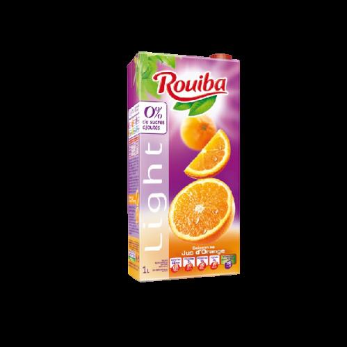 ROUIBA -- LIGHT -- ORANGE -- 1L